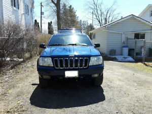 Reduced Price $1,800.00   2001 Jeep Grand Cherokee Limited 4x4