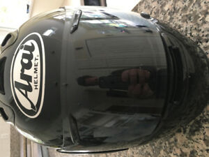Arai RX7 Motorcycle Helmet Size M with 2 extra shields