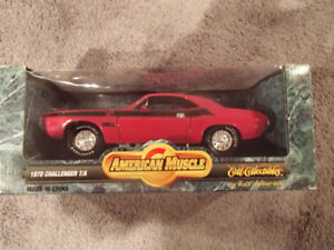 1:18 SCALE DIE-CAST AMERICAN MUSCLE 1970 DODGE CHALLENGER T/A M3