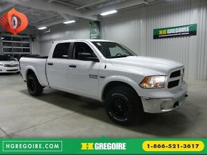 2016 Ram 1500 Outdoorsman 4X4 CREW A/C Gr-Électrique (Bluetooth)