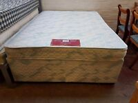 Standard double divan bed base and mattress sets only £ 60 each
