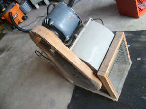 High Capacity blower motor and fan