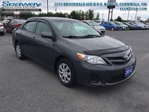 2012 Toyota Corolla CE  -  CD Player - $80.58 B/W