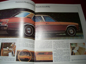 1977 Chevy  Concours (nova) sales brochure Peterborough Peterborough Area image 2