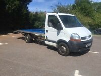 2005 Renault master 2.5 dci recovery truck new bed elec windows