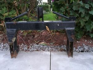Quick hitch 3 point  for a mini tractor
