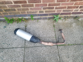 Yamaha r125 exhaust 2008-2013, used for sale  Saltley, West Midlands