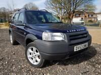 2003 LAND ROVER FREELANDER KALAHARI TD4 BMW ENGINE