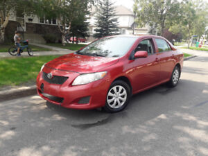 2009 Toyota Corolla CE, Carstarter and two sets of Wheels