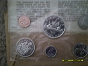 4 SILVER PROOF LIKE COIN SETS