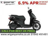 YAMAHA DELIGHT 125, 21 REG 0 MILES, AUTOMATIC 125cc RETRO SCOOTER LTS125...