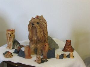 YORKSHIRE TERRIER - FIGURINES & PLATES