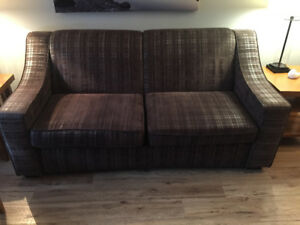 2 Queen size pullout couches for sale