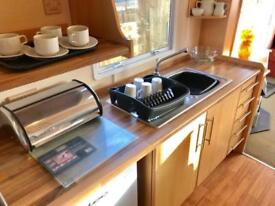 Static caravan CONTACT DEAN north west morecambe 3 bed ocean edge heysham views
