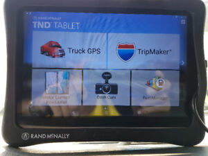 Rand McNally GPS tablet for truckers