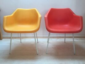 2 Robin Day Hille Chairs from Habitat