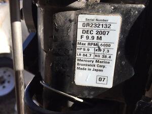 9.9 Mercury 4 stroke, short shaft outboard Belleville Belleville Area image 4