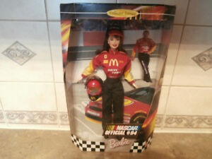 NASCAR COLLECTOR EDITION BARBIE