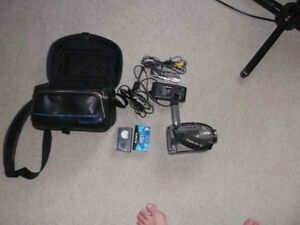 Panasonic 150X Digital Recorder With Accessories