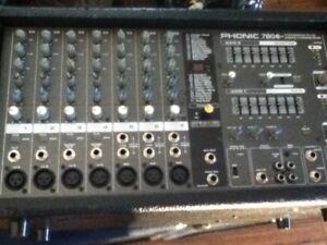 powered mixer PHONIC 7806