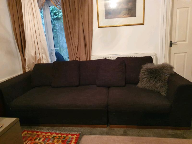 Dwell Linen 4 Seater Modular Sofa In Abercynon Rhondda Cynon Taf Gumtree