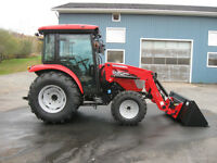 McCormick X1.45C - Now Here's A Real Heavy Duty 47hp Cab Tractor