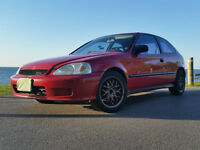 1999 Honda Civic Hatchback - lots of work has been done