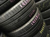 Part worn tyres & new tyres - FITTED - Tyre Shop Car & commercial Van Tyres . PartWorn Used tyres
