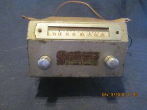 Canadian Tire Supertone Antique Car Radio