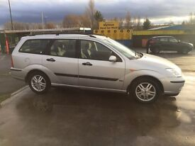 Ford Focus 1.6 petrol,zetec,59000 miles from new,£999,