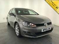 2015 VOLKSWAGEN GOLF GT BLUEMOTION TECH TDI SAT NAV 1 OWNER VW SERVICE HISTORY