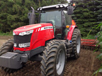 Massey Ferguson 7615 Tractor 4wd For Sale Like New 140HP Dyna 6