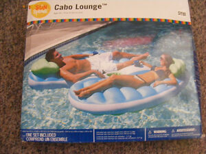 FOR SALE: NEW DOUBLE POOL LOUNGER