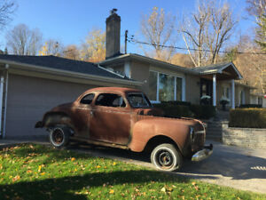 1941 Plymouth Special Delux Coupe (project)