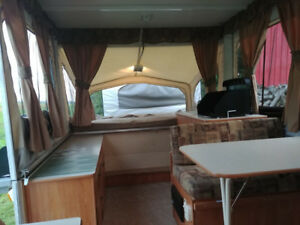 10 Foot Tent Trailer - FOR RENT