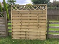 Fountain Timber Dorset Fence Panels