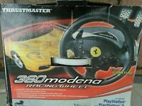 Ferari stering for ps2 boxed and 22 gamesd working order! Can deliver or post! Thank you