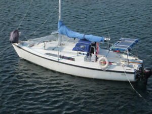 Macgregor trailer sailer