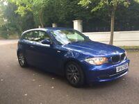 BMW 1 SERIES 2.0 2008 3 DOOR HATCH 65 k LONG MOT DRIVES LOVELY CLEAN CAR