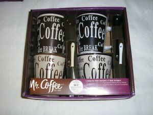 SET OF MR. COFFEE CUPS AND MR. COFFEE KETTLE