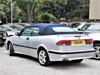 Convertible AUTO -- Saab 9-3 -- 2.0 T -- Turbo SE -- Automatic -- LEATHER Seats