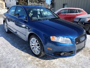 2008 Audi A4 S-line Quattro Sedan - Leather, sunroof