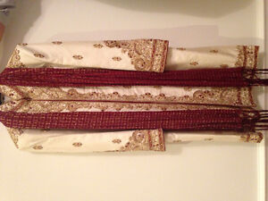 Beautiful Men's & Boys Sherwani - Excellent Condition Oakville / Halton Region Toronto (GTA) image 1