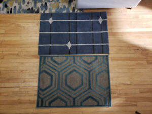 2' x 3' Area Rugs. 6 Available, Various Patterns.