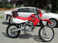 2007 Honda XR650L OPEN TO OFFERS