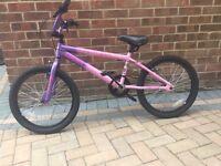 Girls BMX Bike pink and purple