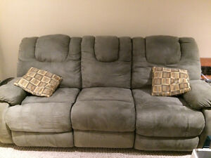 Sage Double Recliner Sofa