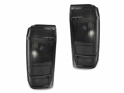 Bronco Tail Lights Lamps (Smoke Tail Lights Lamps Left + Right For 1984-1990 Ford Bronco II Pickup Truck )