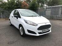 Ford Fiesta 1.5TDCI 75PS AIR CON DIESEL MANUAL WHITE (2014)