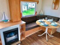 3 bed starter static caravan for sale sited on a pitch of your choice - low fees